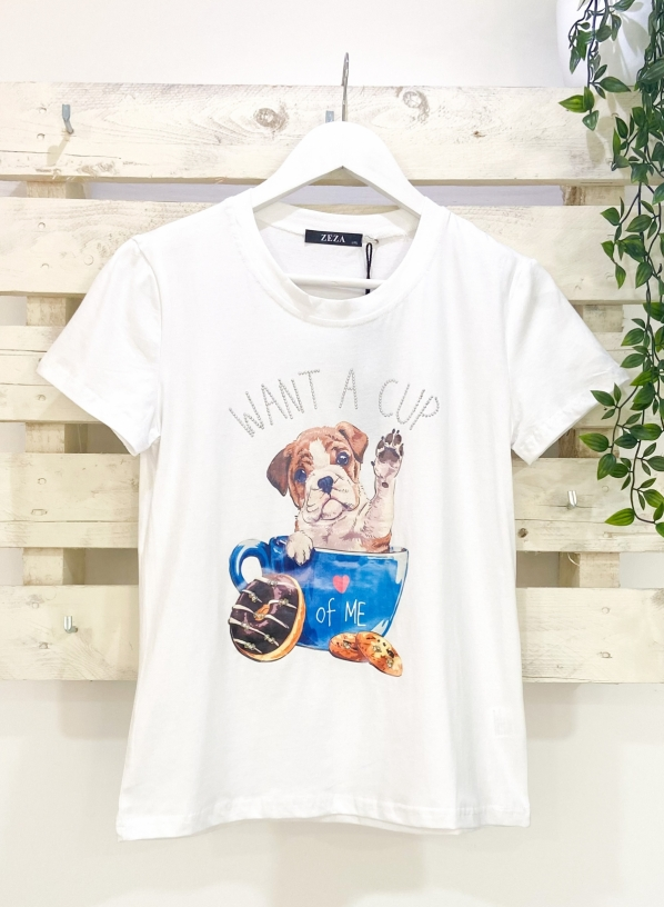 CAMISETA CUP OF DOG - Foto 2/3